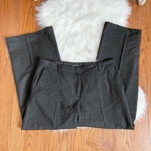 Eileen Fisher Wide Leg Wool Blend Pants PM